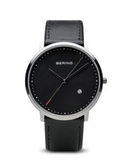 Bering Watch Classic brushed silver