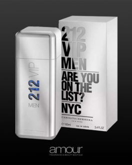 212 VIP Men by Carolina Herrera EDT for Men