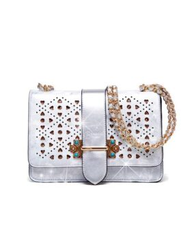 Brangio Italy crossbody bag with sparkling crystals