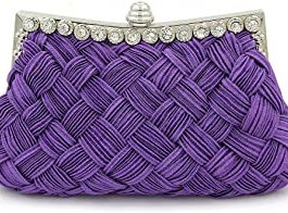 Arcade Purple Clutch