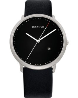 Bering Classic Brushed Silver Watch